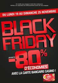 Prospectus Géant Casino EXINCOURT : Black Friday – Bon plan carte bancaire Casino