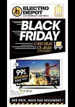Prospectus ELECTRO DEPOT : Black Friday