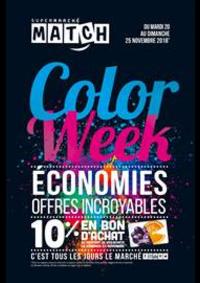Prospectus Supermarchés Match Achenheim : Color Week