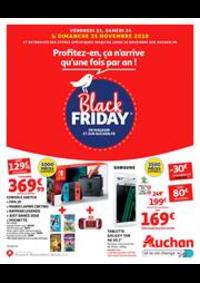 Prospectus Auchan CERGY : Profitez-en, ça n'arrive qu'une fois par an !