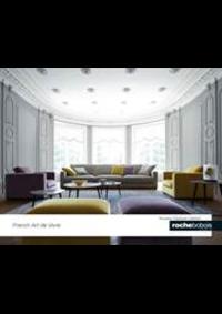 Prospectus Roche Bobois Galeries Lafayette - Lafayette Maison : Nouveaux classiques collection