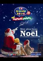 Prospectus La grande Récré : Mon plus beau Noël