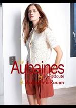 Prospectus LES AUBAINES : Chemises & Blouses