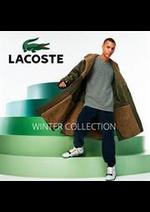 Promos et remises  : Lacoste Winter Collection