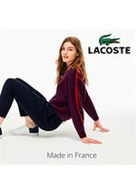 Prospectus Lacoste : Lacoste Made in France