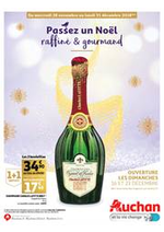 Prospectus Auchan : Passez un noël raffiné & gourmand