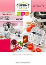 Prospectus Cuisine plaisir : Automne Hiver 2018/19