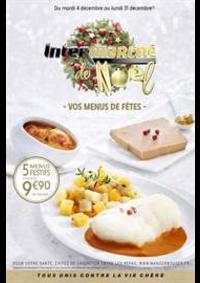 Prospectus Intermarché Super Jussey : VOS MENUS DE FÊTES
