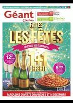 Prospectus Géant Casino : Faites les fêtes !