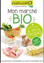 Prospectus NaturéO : Mon marché BIO