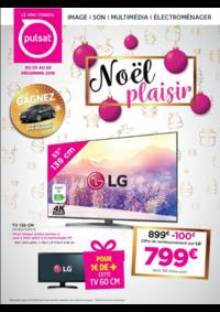 Prospectus Pulsat : Noël Plaisir