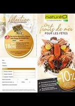 Prospectus NaturéO : Bon de commande poissonnerie Ballainvilliers