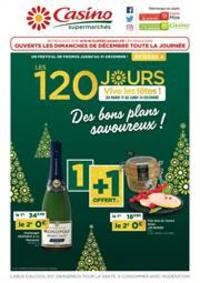 Prospectus Supermarchés Casino PARIS 28 - 34 rue de Ménilmontant : Des bons plans savoureux !