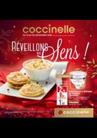 Prospectus Coccinelle Supermarché PARIS 108/110 RUE DES PYRENEES : Réveillons nos Sens!