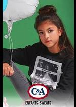 Prospectus C&A : Enfants-Sweats