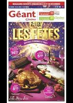 Prospectus Géant Casino : Faites les fêtes - Joyeuses économies à tous !