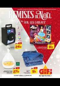 Prospectus Gifi VILLEMOMBLE : Remises de Noël