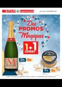 Prospectus Spar MONTGERMONT : Des promos magiques