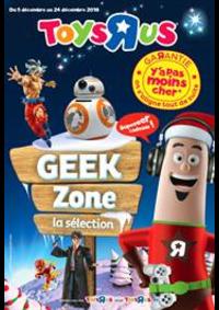 Prospectus Toys R Us AULNAY SOUS BOIS : Geek Zone la sélection