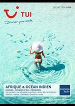Prospectus TUI : Brochure Afrique & Océan Indien Collection 2019