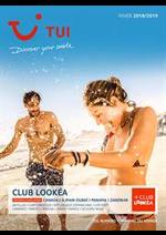 Promos et remises  : Brochure TUI Club Lookéa Hiver 2018/2019