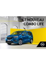 Promos et remises  : Opel Combo Life