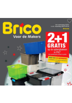 Prospectus Brico : 2+1 gratis