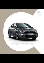 Prospectus Citroen : Citroën C-Elysee