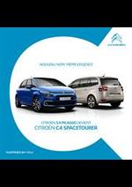 Promos et remises  : Citroën C4 Picasso - Citroën C4 Spacetourer