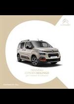 Prospectus Citroen : Citroën Berlingo