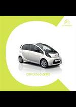 Prospectus Citroen : Citroën C-Zero