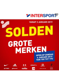 Prospectus Intersport : Solden