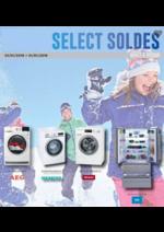 Prospectus  : Select soldes