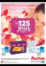 Prospectus Auchan : Il est temps de prendre soin de vous !