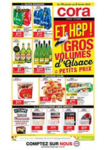 Prospectus  : Gros volumes d'Alsace = petits prix