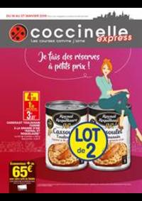 Prospectus Coccinelle Express ECOUEN : Je fais de réserves à petits prix!