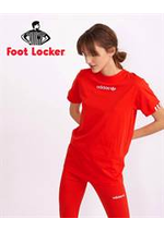 Prospectus Foot Locker : Collection T-Shirts / Femme