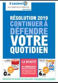 Prospectus E.Leclerc MEAUX : Résolution 2019 continuer à défendre votre quotidien
