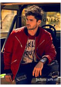 Prospectus Guess Vélizy-Villacoublay : Guess Jackets Men 30% Off