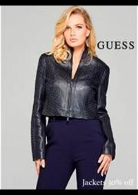 Prospectus Guess Thiais : Guess woman jackets