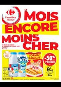 Prospectus Carrefour Market Vaires Sur Marne : Le mois encore moins cher 4