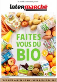 Prospectus Intermarché Limelette-Ottignies : Faites Bio