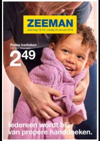 Prospectus Zeeman Maisières : Ledereen wordt blij van handdoeken
