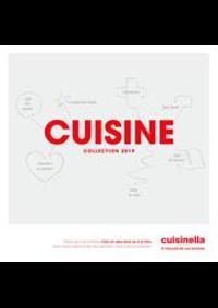 Prospectus cuisinella MONTAUBAN : Catalogue Cuisine 2019