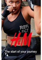 Promos et remises  : H&M The start of your journey