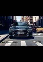 Promos et remises  : Audi A7 Sportback