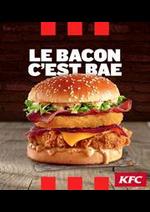 Prospectus KFC : Notre Carte