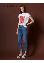 Prospectus Sandro : Jeans Femme