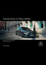 Journaux et magazines Mercedes Benz : Mercedes-Benz Classe A et Classe A Berline