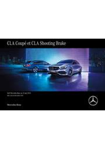 Promos et remises  : Mercedes-Benz CLA Coupé et CLA Shooting Brake